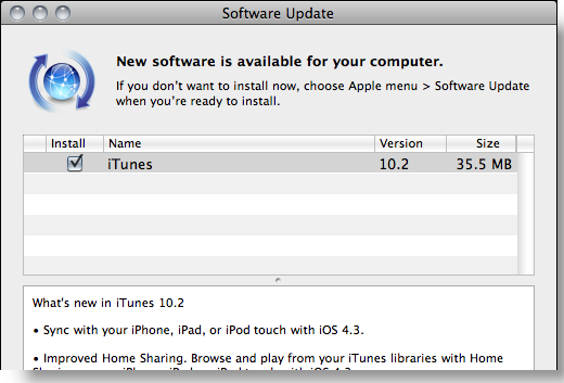 new itunes ipad 2