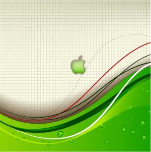 iPad Wallpaper Apple Abstract