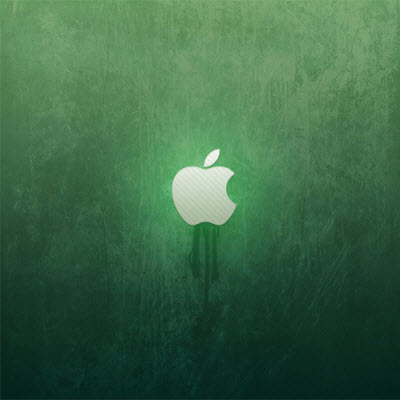 iPad Wallpaper Green Apple