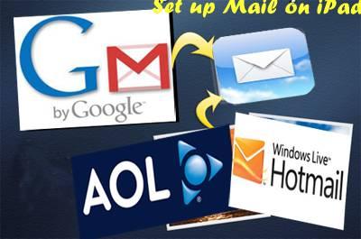 Set up Email accounts on iPad and iPad 2