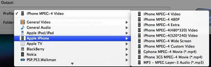 convert 3GP to iPhone on Mac