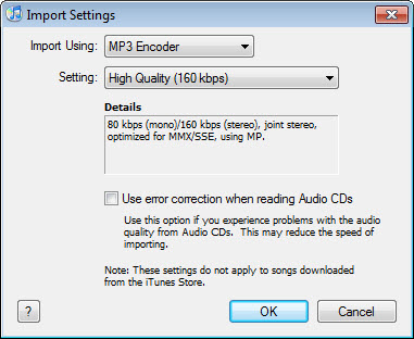 convert aac to mp3 in itunes