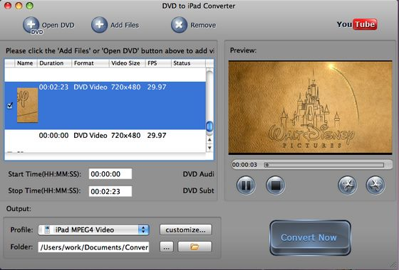 DVD MPEG-4 Converter for Mac