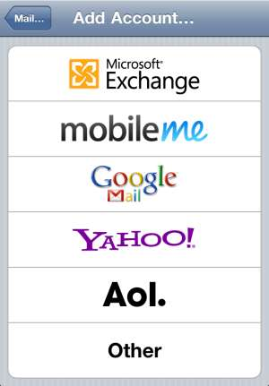 ... Gmail as an Exchange account type other than the default Gmail account