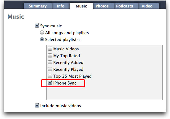 add music to iphone with itunes