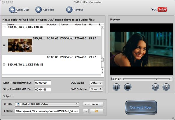 Convert DVD to iPhone 3gs with DVD to iPhone converter