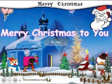make a christmas ecard 2011
