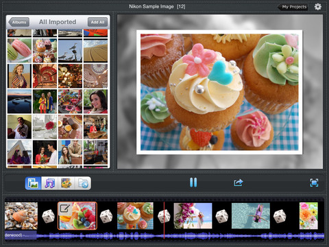 Photo slideshow director HD screenshot